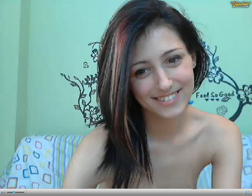 Screenshot of Live Chat with a Webcam Cutie on Chaturbate.com