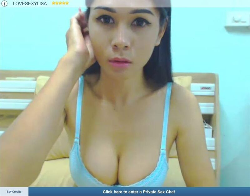 One of ImLive's sexy shemales, drawing users in for a live, tranny cum show