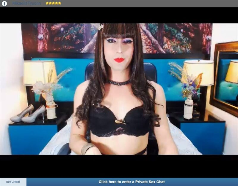 Screenshot taken prior to a hot, shemale cum show, from my ImLive trannies review