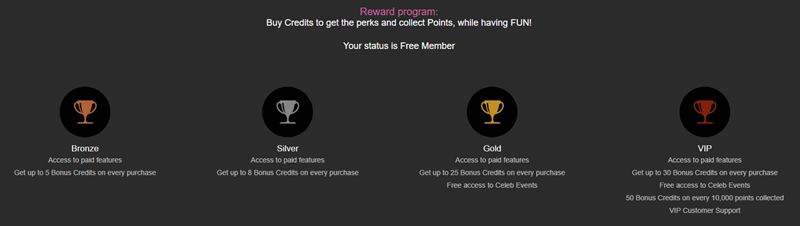 FetishGalaxy's loyalty program
