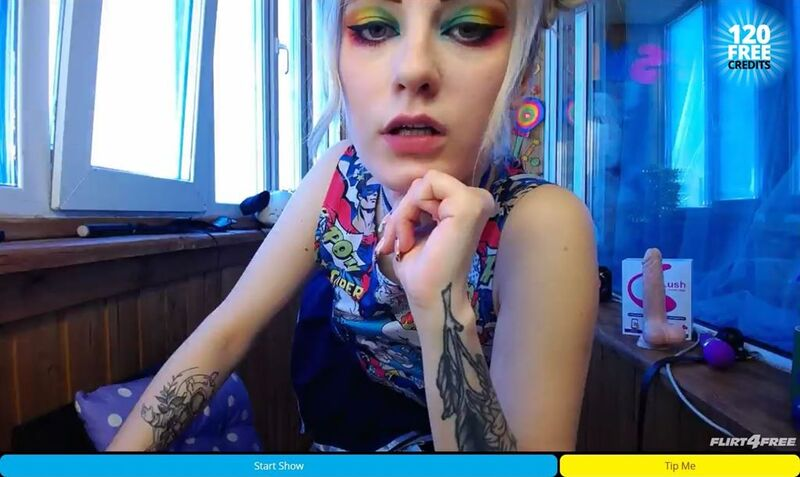 Punk domme eager for an obediant slave on Flirt4Free