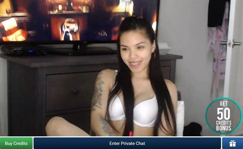 Nubile Asian on cam on ImLive