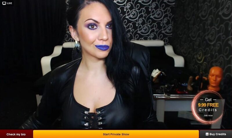 Mean dom looking for a slave on LiveJasmin