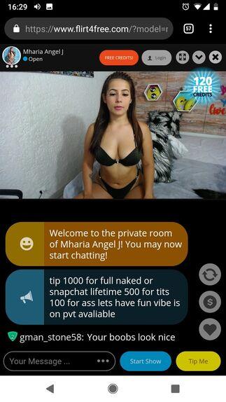 Wife masturbating on webcam