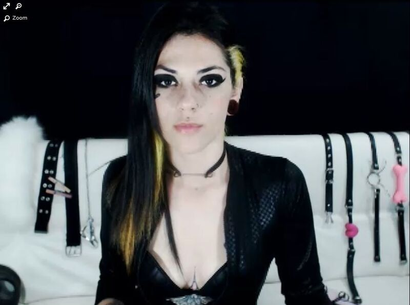 Beautiful young fetish model on xLoveCam