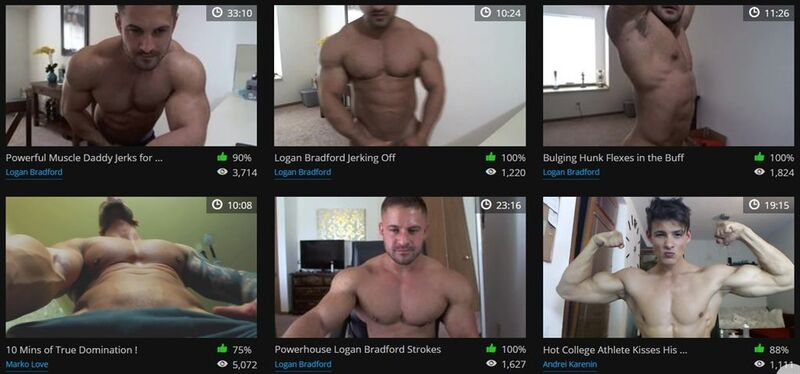 Flirt4Free's recorded shows section