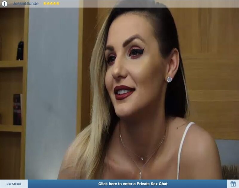 Sexy German blonde cam model on ImLive