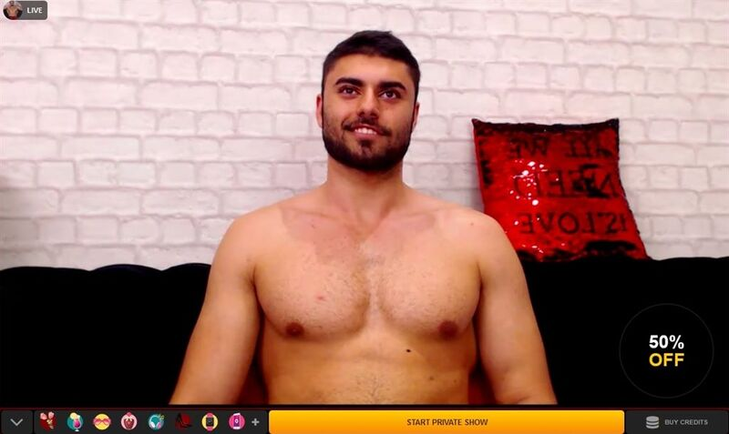 tanned hunk happy to get you off on LiveJasmin